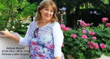 PREMINULA JULIJANA KARAČIĆ Hercegovina se oprašta od medicinske sestre koju su svi voljeli