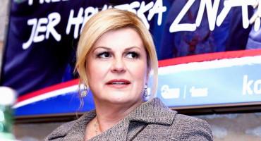 Kolinda Grabar-Kitarović pakira stvari i seli u novi ured