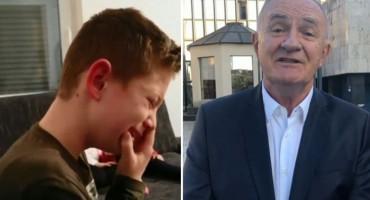 Mate Bulić rasplakao dječaka Lovru