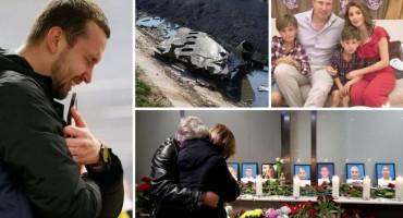 CIJELE OBITELJI POGINULE U PADU AVIONA Stradalo čak 15 djece