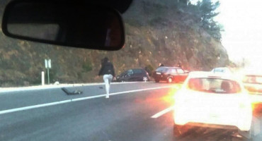 MOSTAR U prometnoj nesreći na Žovnici dvije osobe teško ozlijeđene