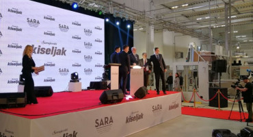 Sarajevski kiseljak pustio u rad tvornicu u Kreševu