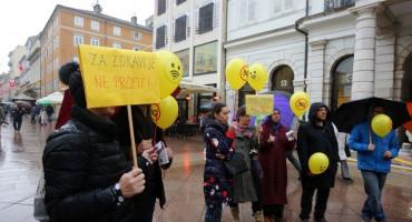 SLOVENIJA Ljubljana se pridružila globalnom prosvjedu protiv 5G tehnologije