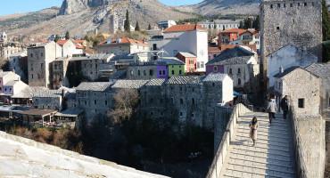 NAKON BURE STIGLO SUNCE Mostar danas najtopliji grad u BiH