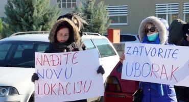 JER NAS SE TIČE Novo mirno okupljanje ispred deponije Uborak