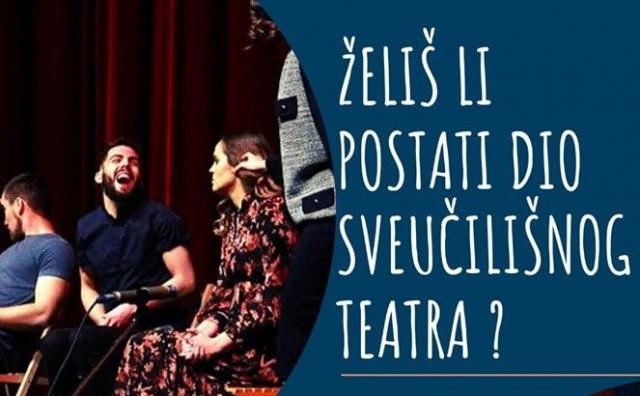 Sveučilišni teatar Mostar raspisuje audiciju za predstavu