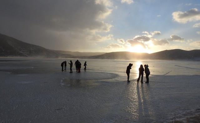 Zaleđeno Blidinjsko jezero atrakcija za posjetitelje
