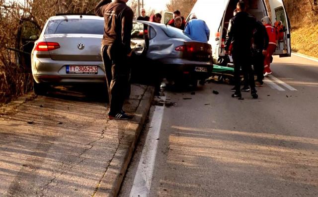 INTERVENIRALI VATROGASCI Teška prometna nesreća u Grudama