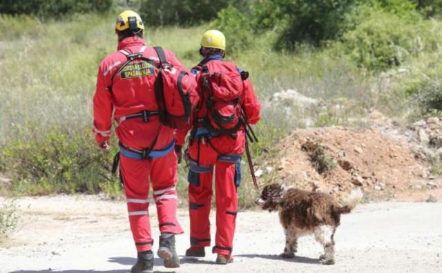 Akcija spašavanja ozlijeđenog alpinista na Čvrsnici