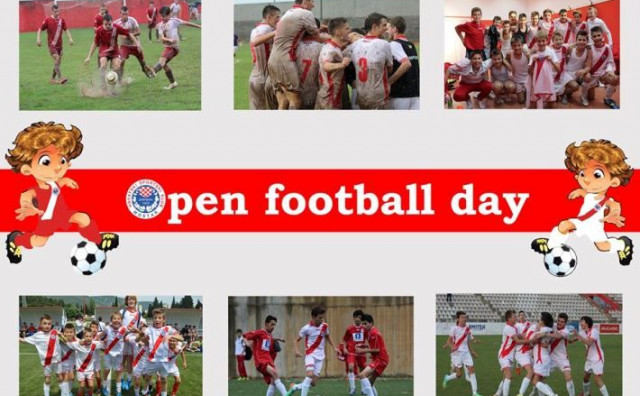OPEN FOOTBALL DAY Postani dio obitelji Zrinjski