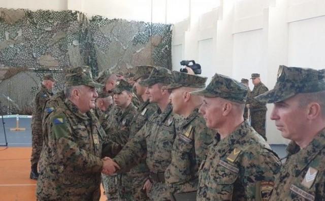 Rotacija pješadijske jedinice OSBiH iz operacije podrške miru u Afganistanu