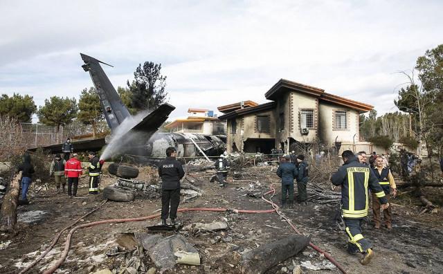 BRITANSKI INDEPENDENT Putnički avion oboren projektilom?