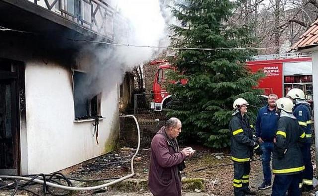 TOMISLAVGRAD Požar na obiteljskoj kući