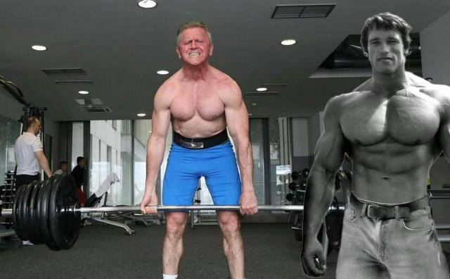 BOSANAC NA NATJECANJU ARNOLDA SCHWARZENEGGERA Sejfo Šehović u 61. godini podiže 260 kilograma