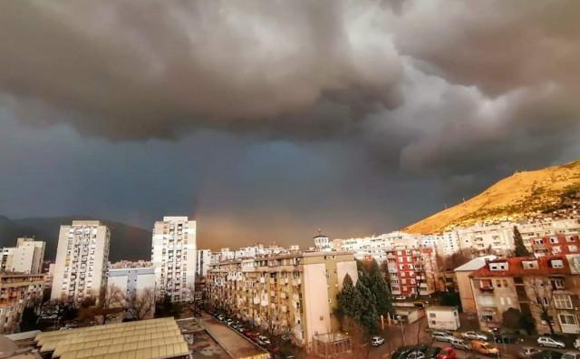 Umjereno do pretežno oblačno vrijeme u Bosni i Hercegovini