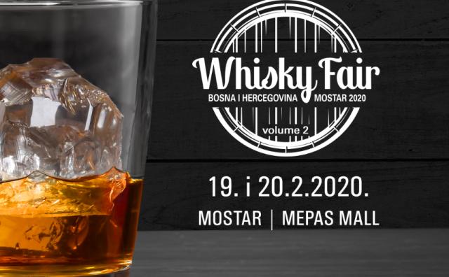WHISKY SAJAM U MOSTARU Više od 100 whisky brandova s ponekim limitiranim serijama