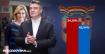 PRVI NESLUŽBENI REZULTATI DIP-a Milanović osvaja 54,01 posto, Grabar-Kitarović 45,99