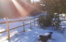 Pogledajte zimsku idilu na Blidinju