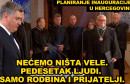 HERCEGOVAČKA INAUGURACIJA 'Nećemo ništa 'vele', pedesetak ljudi'
