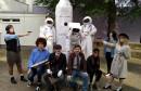MAŠKARE U MOSTARU Srednjoškolci poslali raketu u svemir