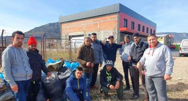 Migranti sudjelovali u akciji čišćenja u Mostaru