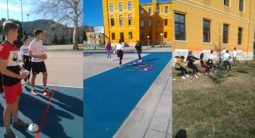 Mostarski gimnazijalci sportskim igrama protiv ovisnosti