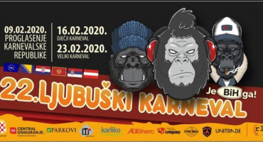 Pogledajte detaljan program 22. Ljubuškog karnevala