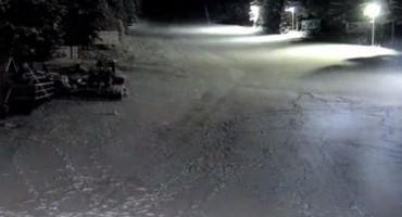 Blidinje prekrio snježni prekrivač