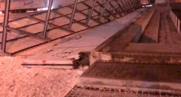 OGROMNA ŠTETA Bura u Posušju odnijela krov i gotovo cijeli zid