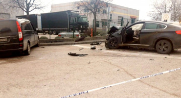 JEDNA OSOBA OZLIJEĐENA U Grudama teža prometna nesreća