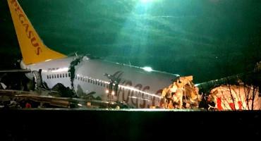 PREPOLOVIO SE Avion skliznuo s piste na aerodromu u Istanbulu