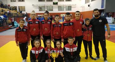 Judaši Hercegovca viceprvaci najjačeg judo turnira u Sloveniji, Lorena Vučić i Mario Novak najbolji borci