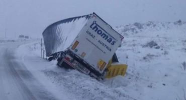 Sletio kamion u Kupreškom polju