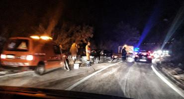 Prometna nesreća na cesti Mostar - Čitluk