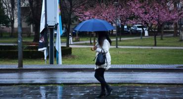 U Hercegovini do kraja tjedna oblačno s kišom