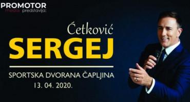 Sergej Ćetković će održati koncert i u Čapljini!