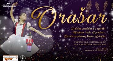 Najizvođenija baletna predstava na svijetu na pozornici HNK Mostar