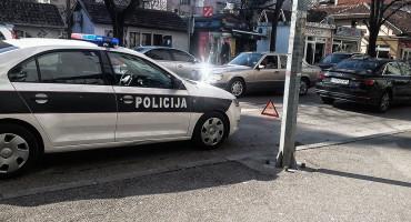 Prometna nesreća u Mostaru, ozlijeđen pješak u ulici Stjepana Radića
