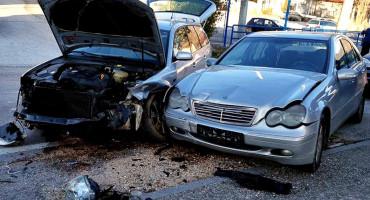 PROMETNA NESREĆA U SOVIĆIMA Sudarila se dva automobila