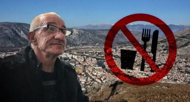 ZBOG URBICIDA Mostarac započeo štrajk glađu