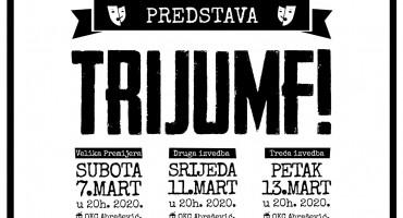 """Koliko nam je danas pobjeda apsolutno potrebna pokazati će Mostarci predstavom """"Trijumf!"""