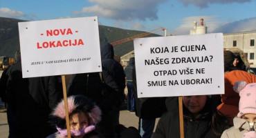 Ponovno mirni prosvjedi na Uborku
