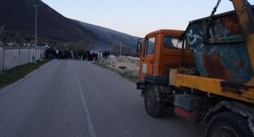 Uborak ponovno blokiran, hoće li se Mostar ponovno 'grcati' u smeću?