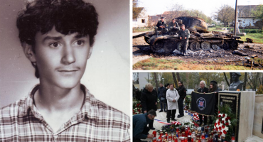 HEROJ IZ BOGDANOVACA Pronađeni posmrtni ostaci neustrašivog branitelja Žarka Manjkasa