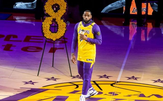 Jamesov oproštaj od Kobeja Bryanta rasplakao Staples Center
