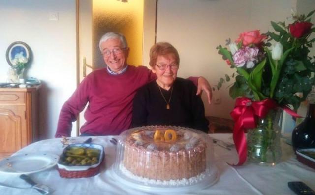 Nada i Vencel Ljubić iz Širokog Brijega proslavili 60 godina braka!