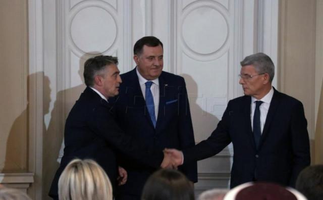 Komšić i Dodik se posvađali oko odnosa prema Crnoj Gori
