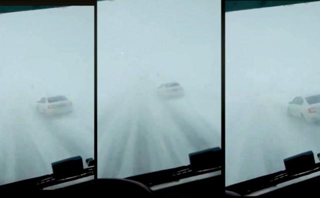 JAKI UDARI VJETRA Strašna oluja zahvatila put preko Kupresa