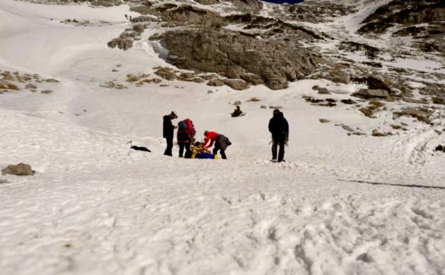 Teško ozlijeđen planinar na Prenju