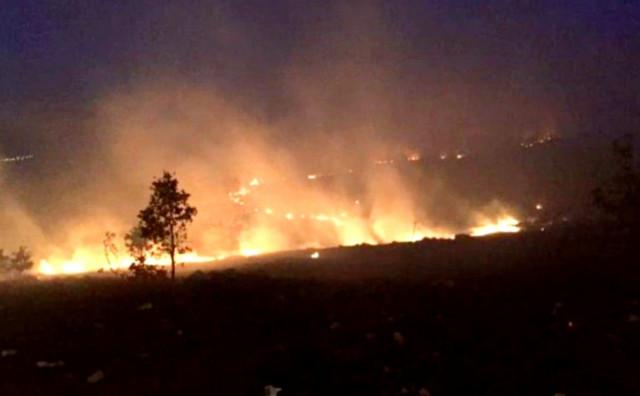 Požar u tomislavgradskim selima Zidine i Roško Polje